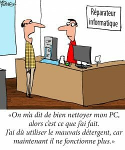 dessin jerry king maintenance informatique