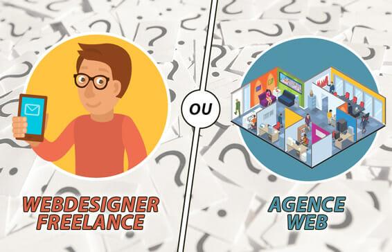 Webdesigner Freelance ou Agence Web ?